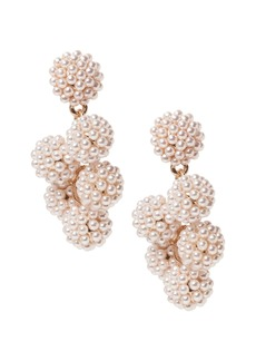 Banana Republic Beaded Pearl Drop Earring