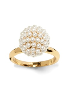 Banana Republic Beaded Pearl Ring