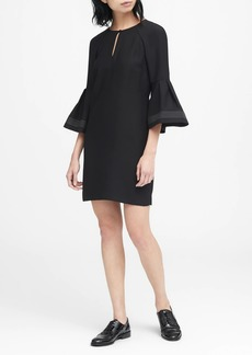 Banana Republic Bell-Sleeve Shift Dress