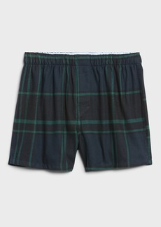 Banana Republic Benny Plaid Flannel Boxer