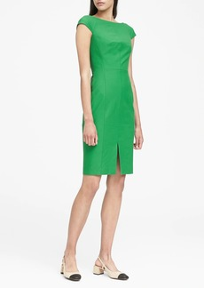 Banana Republic Bi-Stretch V-Back Sheath Dress