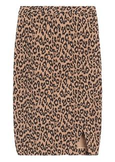 Banana Republic Bi-Stretch Wrap-Front Pencil Skirt