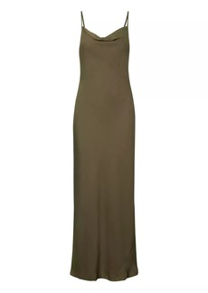 Banana Republic Bias-Cut Maxi Slip Dress