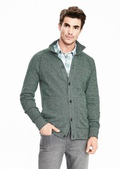 Banana Republic Birdseye Sweater Jacket