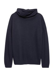 Banana Republic Boiled Wool Turtleneck Sweater