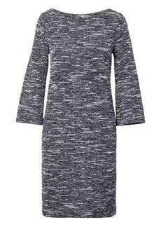 Banana Republic Bouclé Boat Neck Shift Dress