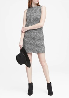 Banana Republic Bouclé Sporty Shift Dress