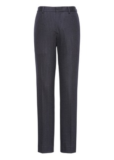 Banana Republic BR x Kevin Love &#124 Athletic Tapered Pinstripe Italian Motion-Stretch Wool Suit Pant