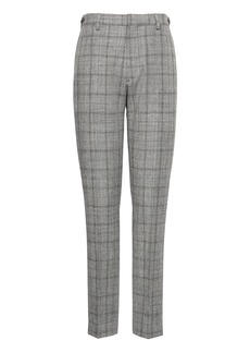 Banana Republic BR x Kevin Love &#124 Athletic Tapered Plaid Cotton-Wool Suit Pant