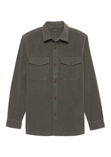 Banana Republic BR x Kevin Love &#124 Italian Moleskin Shirt Jacket