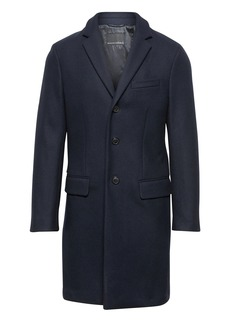 Banana Republic BR x Kevin Love &#124 Slim Italian Wool-Blend Topcoat