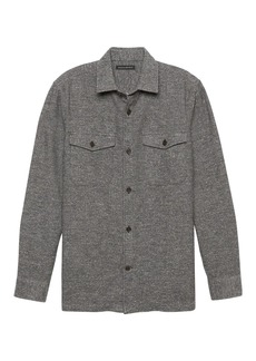 Banana Republic BR x Kevin Love &#124 Japanese Cotton Blend Shirt Jacket