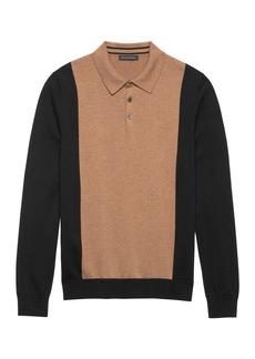 Banana Republic BR x Kevin Love &#124 SUPIMA® Cotton Sweater Polo