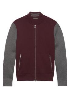 Banana Republic BR x Kevin Love &#124 Sweater Bomber Jacket