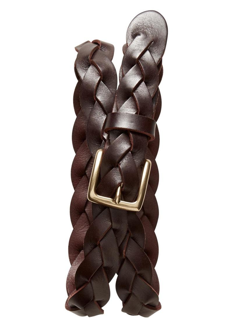 Banana Republic Braided Leather Belt