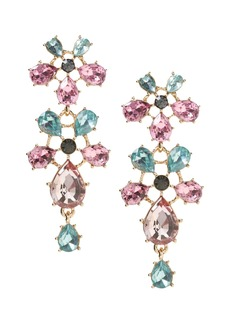 Banana Republic Bright Floral Statement Earring