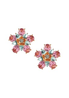 Banana Republic Bright Floral Statement Stud Earring