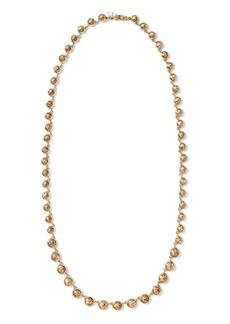 Banana Republic Brilliant Gemstone Long Necklace