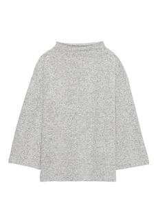 Banana Republic Brushed Jersey Mock-Neck Top