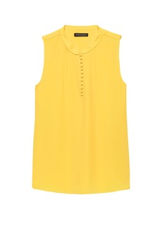 Banana Republic Button-Front Top