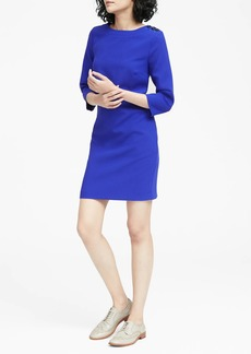 Banana Republic Button-Shoulder Shift Dress