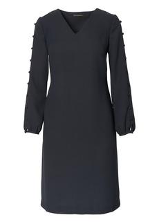 Banana Republic Button-Sleeve Shift Dress