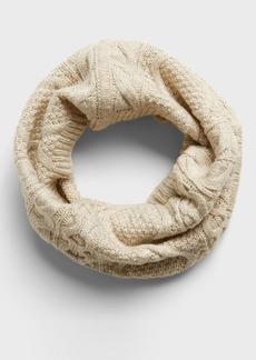 Banana Republic Cable-Knit Circle Scarf