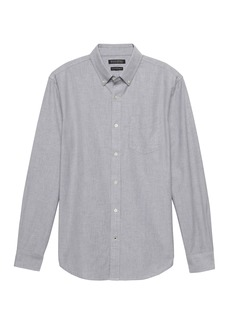 Banana Republic Camden Standard-Fit 100% Cotton Oxford Shirt