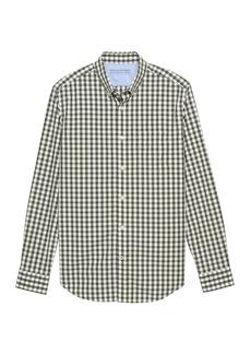 Banana Republic Camden Standard-Fit Luxe Poplin Gingham Shirt
