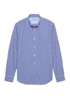 Banana Republic Camden Standard-Fit Luxe Poplin Gingham Shirt