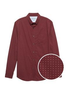 Banana Republic Camden Standard-Fit Luxe Poplin Paisley Shirt