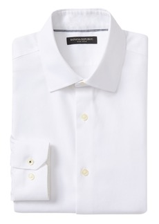 Banana Republic Camden Standard-Fit Non-Iron Birdseye Dress Shirt