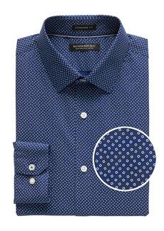 Banana Republic Camden Standard-Fit Non-Iron Confetti Print Dress Shirt