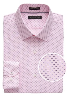 Banana Republic Camden Standard-Fit Non-Iron Dot Shirt