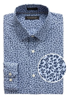 Banana Republic Camden Standard-Fit Non-Iron Floral Dress Shirt