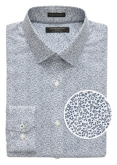 Banana Republic Camden Standard-Fit Non-Iron Floral Dress Shirt
