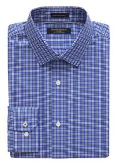 Banana Republic Camden Standard-Fit Non-Iron Grid Dress Shirt