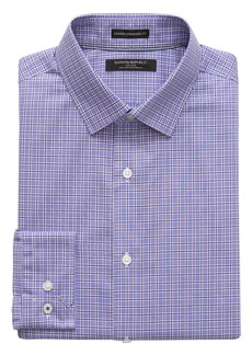 Banana Republic Camden Standard-Fit Non-Iron Grid Shirt