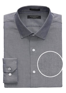 Banana Republic Camden Standard-Fit Non-Iron Herringbone Shirt