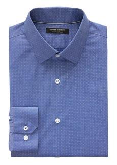 Banana Republic Camden Standard-Fit Non-Iron Dot Dress Shirt