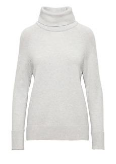 Banana Republic Cashmere High-Low Hem Turtleneck Sweater