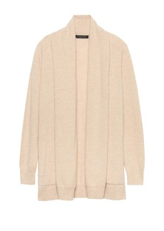 Banana Republic Cashmere Open Long Cardigan Sweater