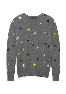 Banana Republic Cashmere Star Sweater