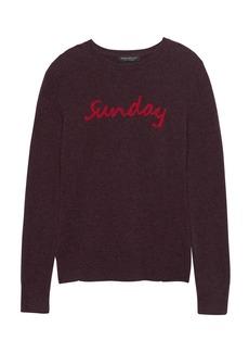 Banana Republic Cashmere Sunday Sweater