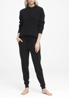 Banana Republic Cashmere Side-Stripe Jogger Pant
