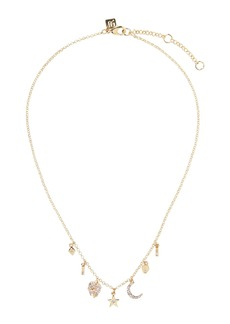 Banana Republic Celestial Multi Charm Necklace