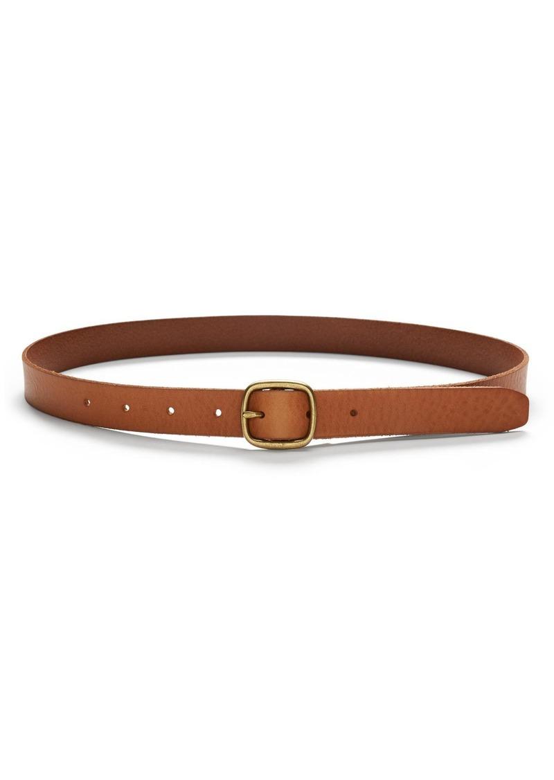 Banana Republic Centerbar Italian Leather Belt