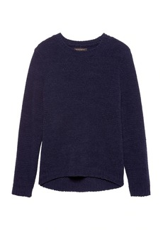 Banana Republic Chenille Crew-Neck Sweater