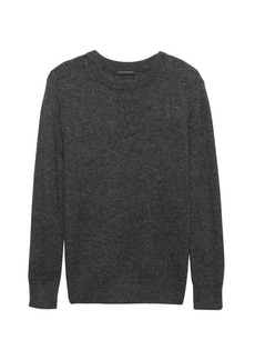 Banana Republic Chunky Metallic Crew-Neck Sweater