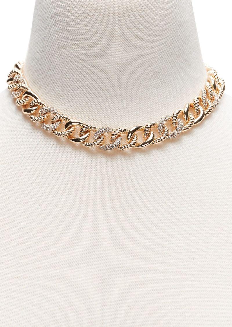 Chunky Pavé Chain Necklace